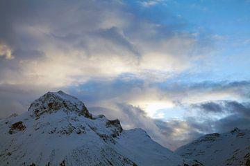 Wolken over de Omeshorn van Jürgen Wiesler