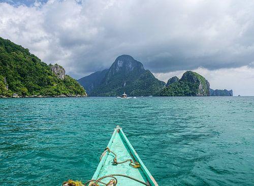 Recht op de eilanden van Palawan af van Backpacks and Photographs
