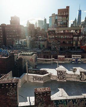 New York City Rooftops van Ian Schepers