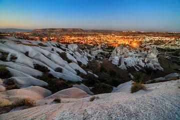 Zonsondergang in Cappadocië sur Roy Poots