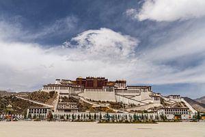 Potala paleis in Lhasa, Tibet van