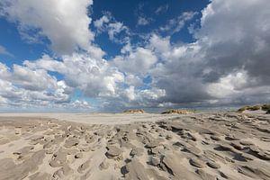 Wolken - zand - strand