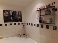 Photo de nos clients: The bathroom sur Esmeralda holman, sur aluminium