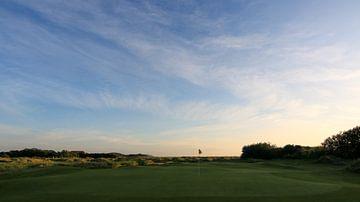 Texel Golfplatz Loch 10 von Peter van Weel