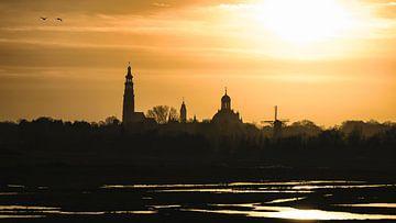 Middelburg Skyline sur Thom Brouwer