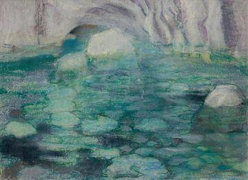 Kazimierz Stabrowski~Die blaue Höhle von Capri