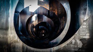 James Bond - staal trompe oeuil - mijn van Sven Van Santvliet