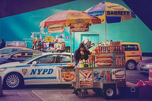 Hot Dog stand New York