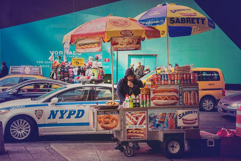 Hot Dog stand New York van VanEis Fotografie