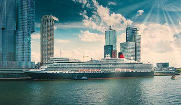 Le bateau de croisière de Rotterdam sur Niels Hemmeryckx