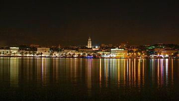 De skyline van Split, Kroatië van Be More Outdoor