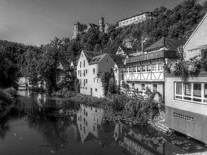 Blick zur Harburg van