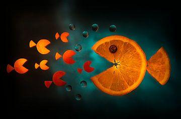 Poisson orange, Aida Ianeva sur 1x