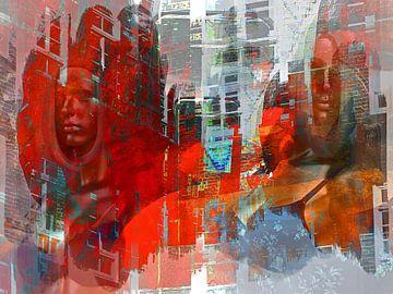Two women in the city sur Gabi Hampe