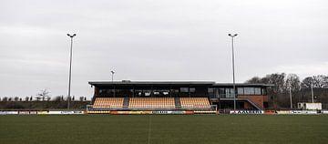 Tribune bij VV Nieuw Buinen | Over de Bal van Over de Bal