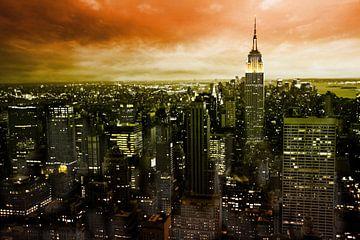 Dark New York van