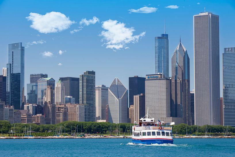 CHICAGO Skyline II van Melanie Viola