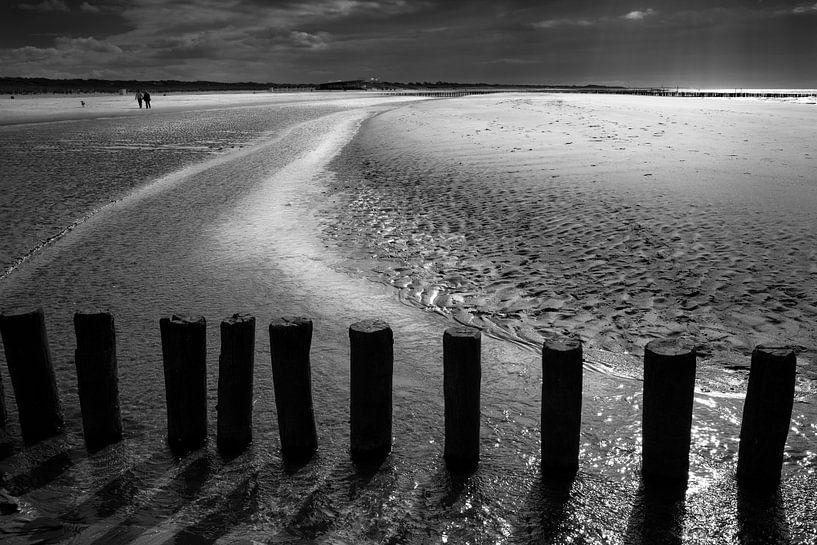 Slecht weer in Zeeland van Peter Brands