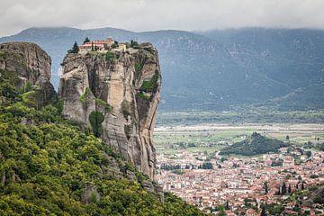 Monastery of the Holy Trinity - Meteora, Greece sur Bart van Eijden