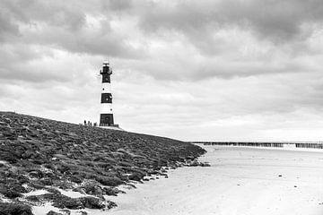 Der Leuchtturm von Breskens von Petra Brouwer