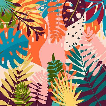 Tropischer Garten von Angel Estevez
