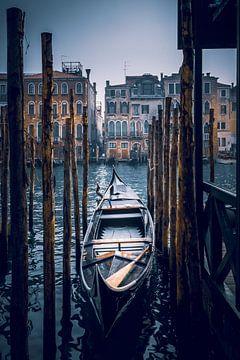 Venetië Boot van Iman Azizi