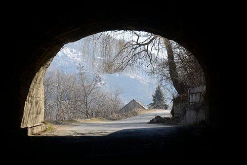 doorkijk tunnel