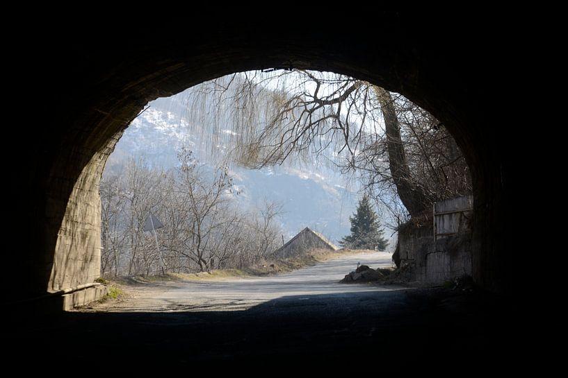 doorkijk tunnel van Bram de Muijnck