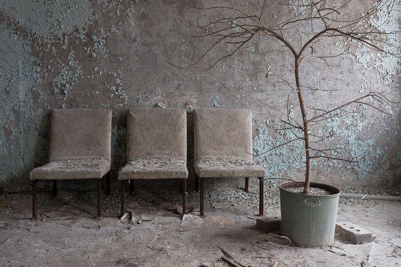 Waiting Room van Ineke Verbeeck