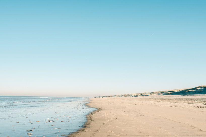 Noordwijk aan Zee | Strandfotografie Nederland Zomerse dag van Raisa Zwart