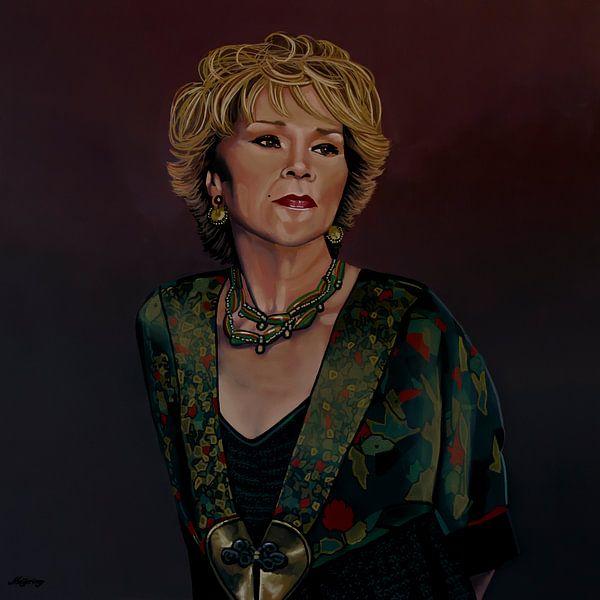 Etta James Schilderij van Paul Meijering