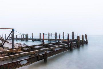 Oude aanlegsteiger op het eiland Rügen van Tilo Grellmann | Photography