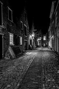 Middelburg - mittelalterliche Gasse Kuiperspoort von Martin Jansen