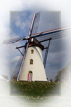 St Anna molen weert van G.m. Seuren