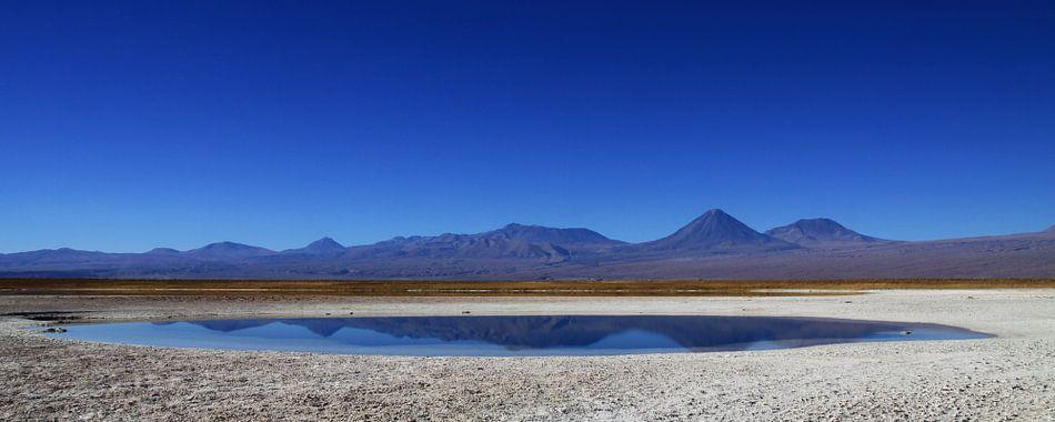 Panorama Cejar lagune van Antwan Janssen