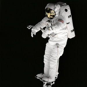 Astronaut op Voetsteun