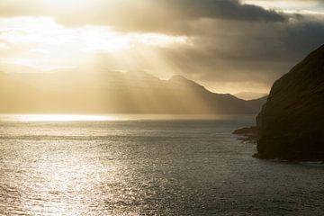 Färöer Inseln Sonnenuntergang von Stefan Schäfer