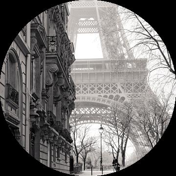 Eiffel Tower at Champs de Mars van Nico Geerlings