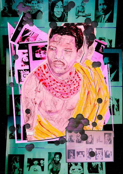 Nelson Mandela. van Frank Pap