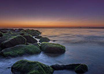 Sonnenuntergang an der Küste von Patrick Herzberg
