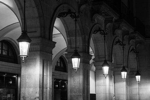 Ramblas, Barcelona van Johan van Venrooy