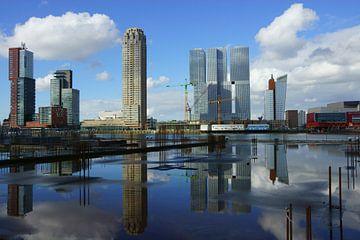 Wilhelminapier Rotterdam sur Michel van Kooten
