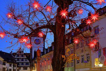 Weihnachtsbaum Freiburg von Patrick Lohmüller