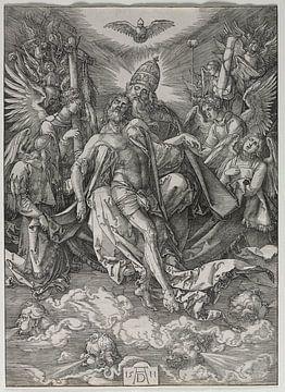 Die Heilige Dreifaltigkeit, Albrecht Dürer von De Canon