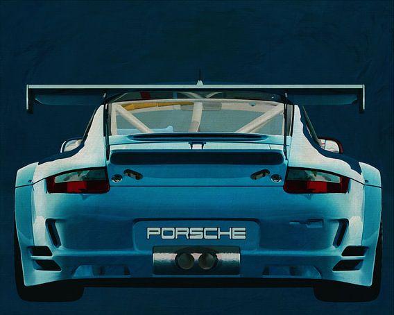 Porsche GT3 RS Cup 2008 achterzijde