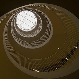 escalier en colimaçon sur Andrea Ooms