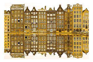 Gouden Damrak Amsterdam Nederland