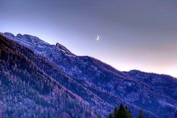 Mond überm Hintersee von Roith Fotografie