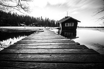 drunken sauna Finland van Stijn Vanoverbeke