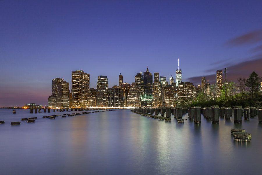 Skyline New York 2 van Bert Nijholt